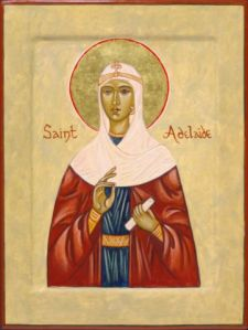 St. Adelaide, pray for us!